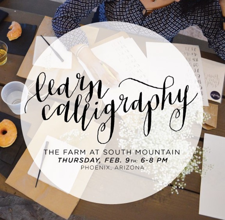 Galentine 39 S Day Modern Calligraphy Class With Unika